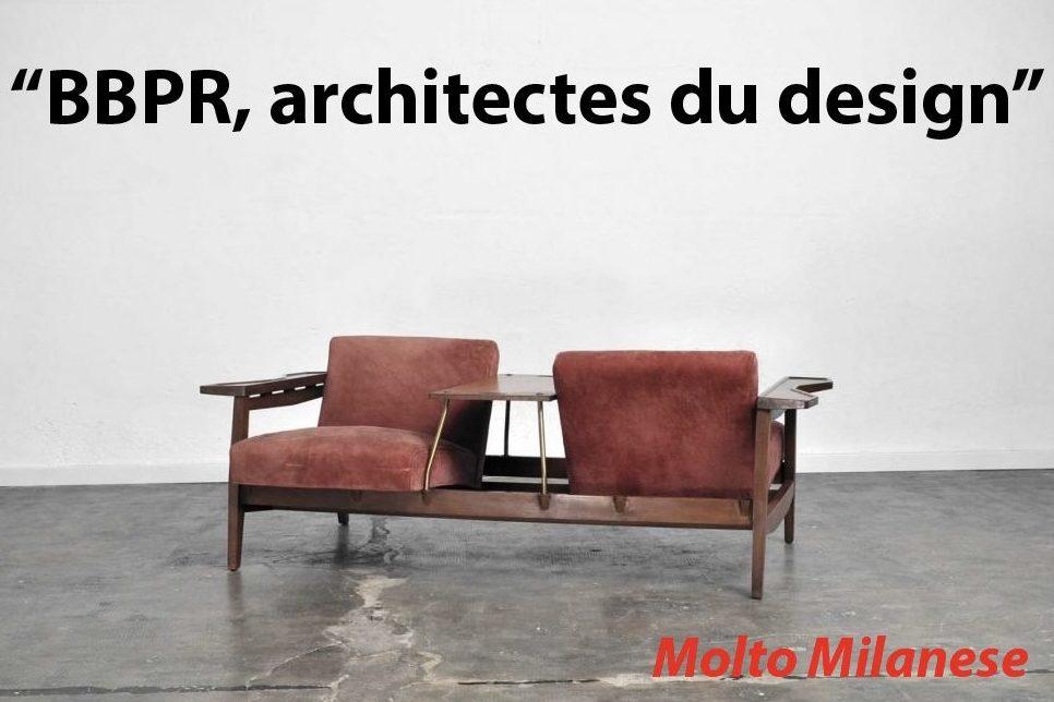 Studio BBPR love seat at Italian design and furniture gallery Casati Gallery