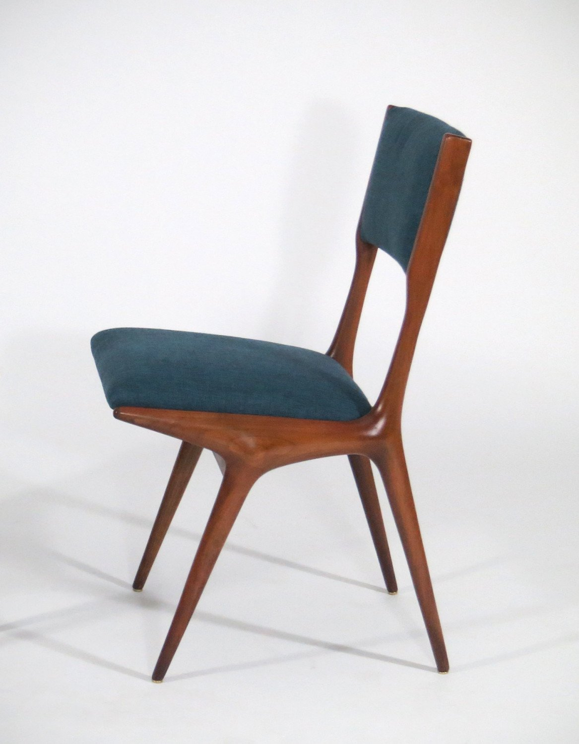 Carlo de Carli |  Dining chair, model 158 - set of six