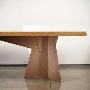 Italian designer Claudio Salocchi Alfa-Robur dining table