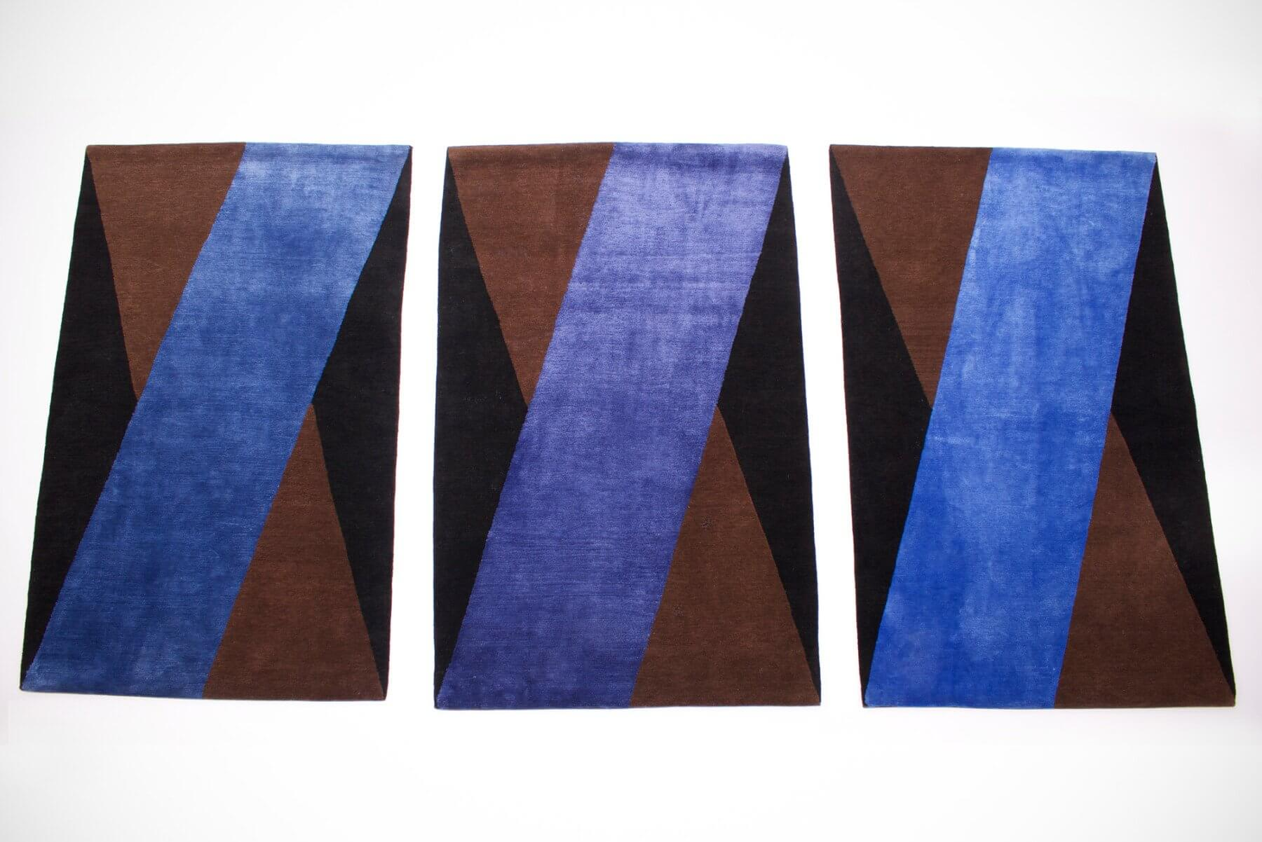 Basic1 - rug triptych