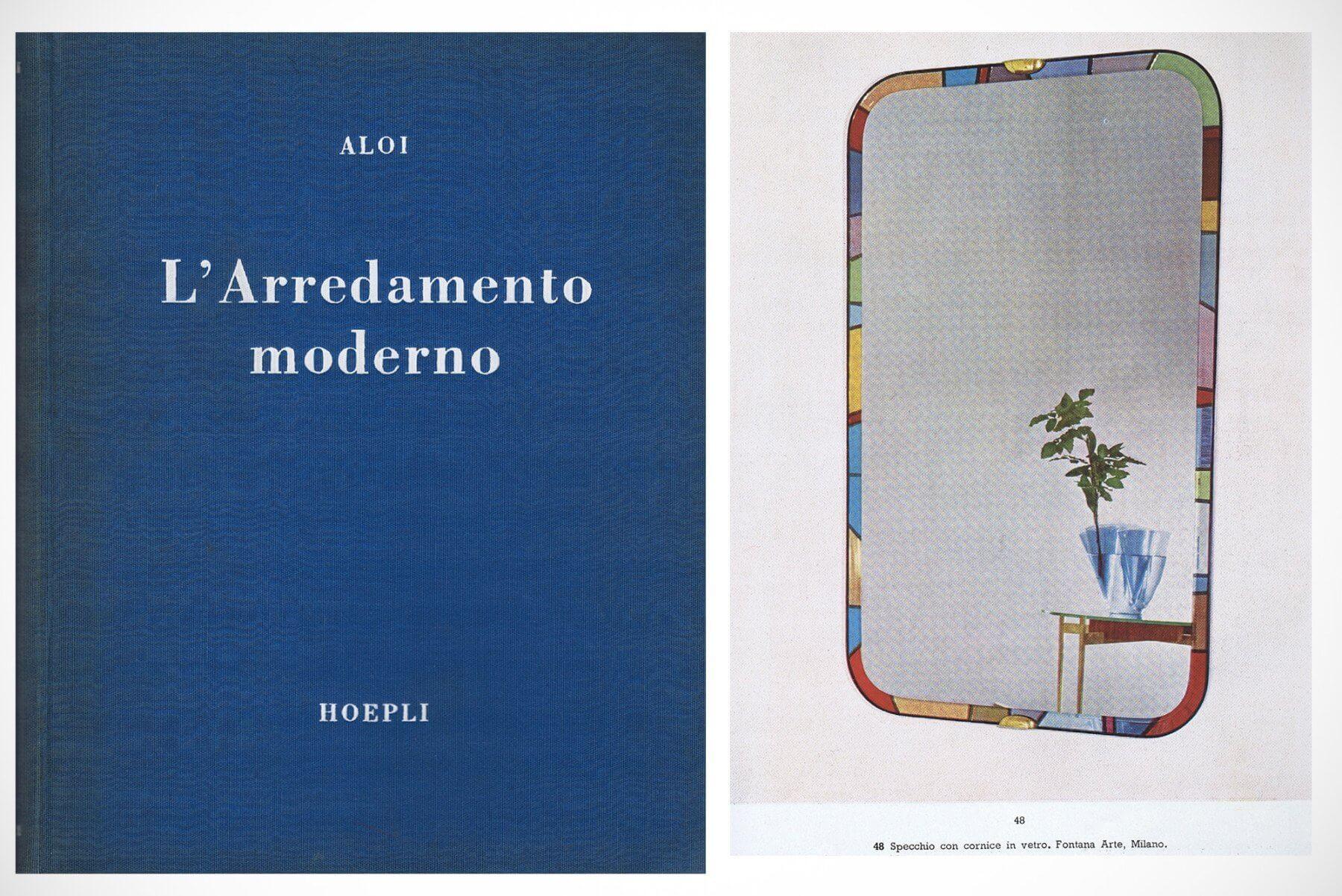 Max Ingrand for Fontana Arte |   Arlecchino - mirror