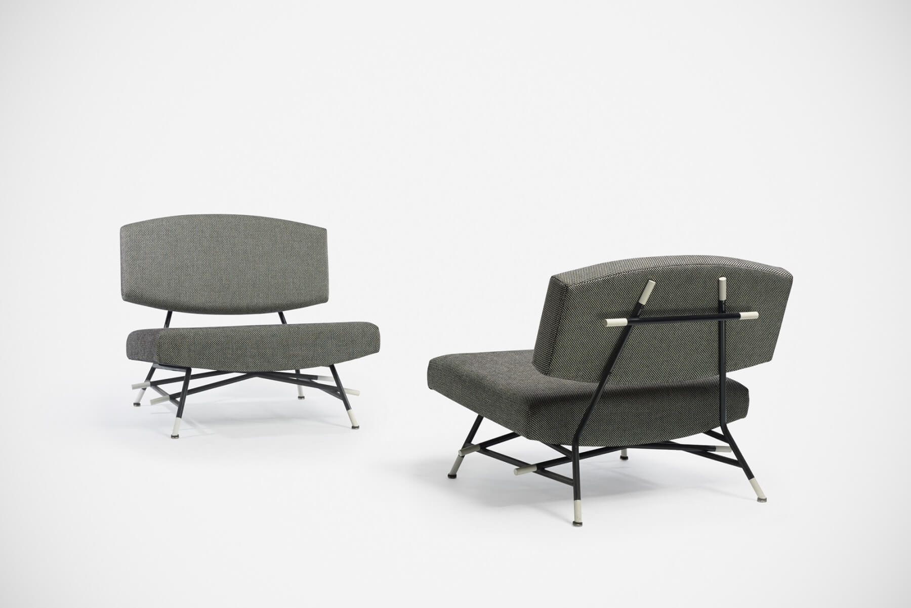 Ico Parisi |   Lounge chairs, model no. 865