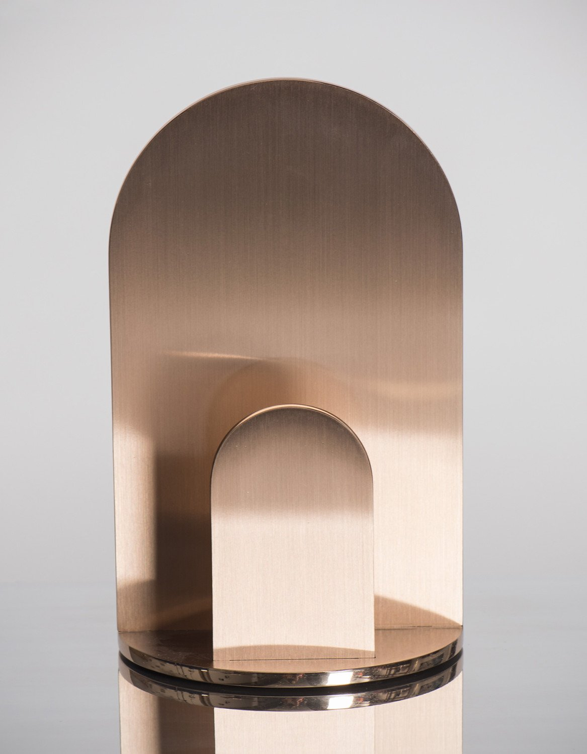Jonathan Nesci |  Gae - bronze candle holder