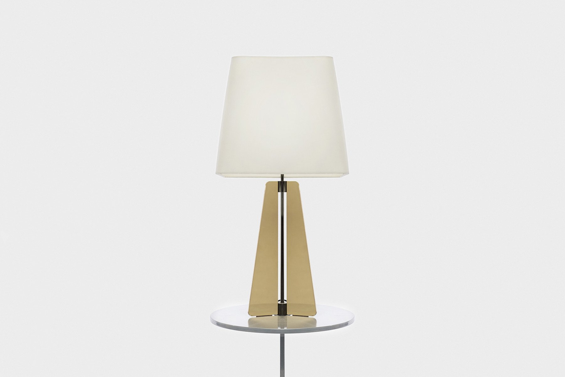 Jonathan Nesci |   Bronze table lamp