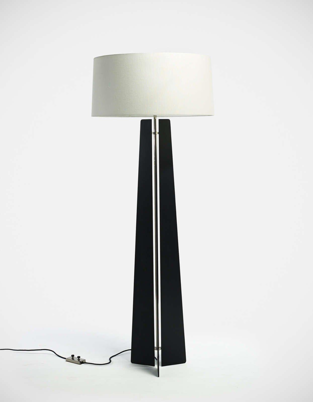 Jonathan Nesci |  Steel floor lamp