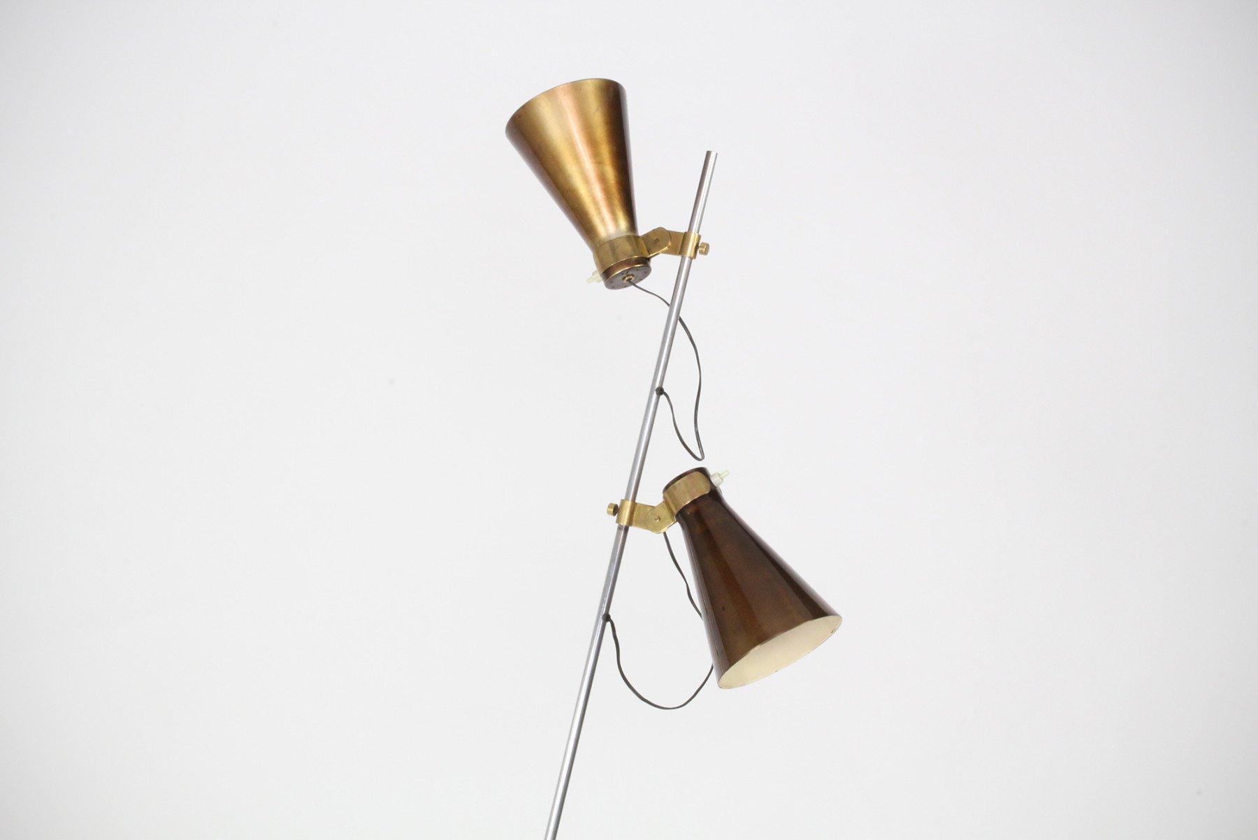 Luigi Caccia Dominioni |   Sasso - rare floor lamp