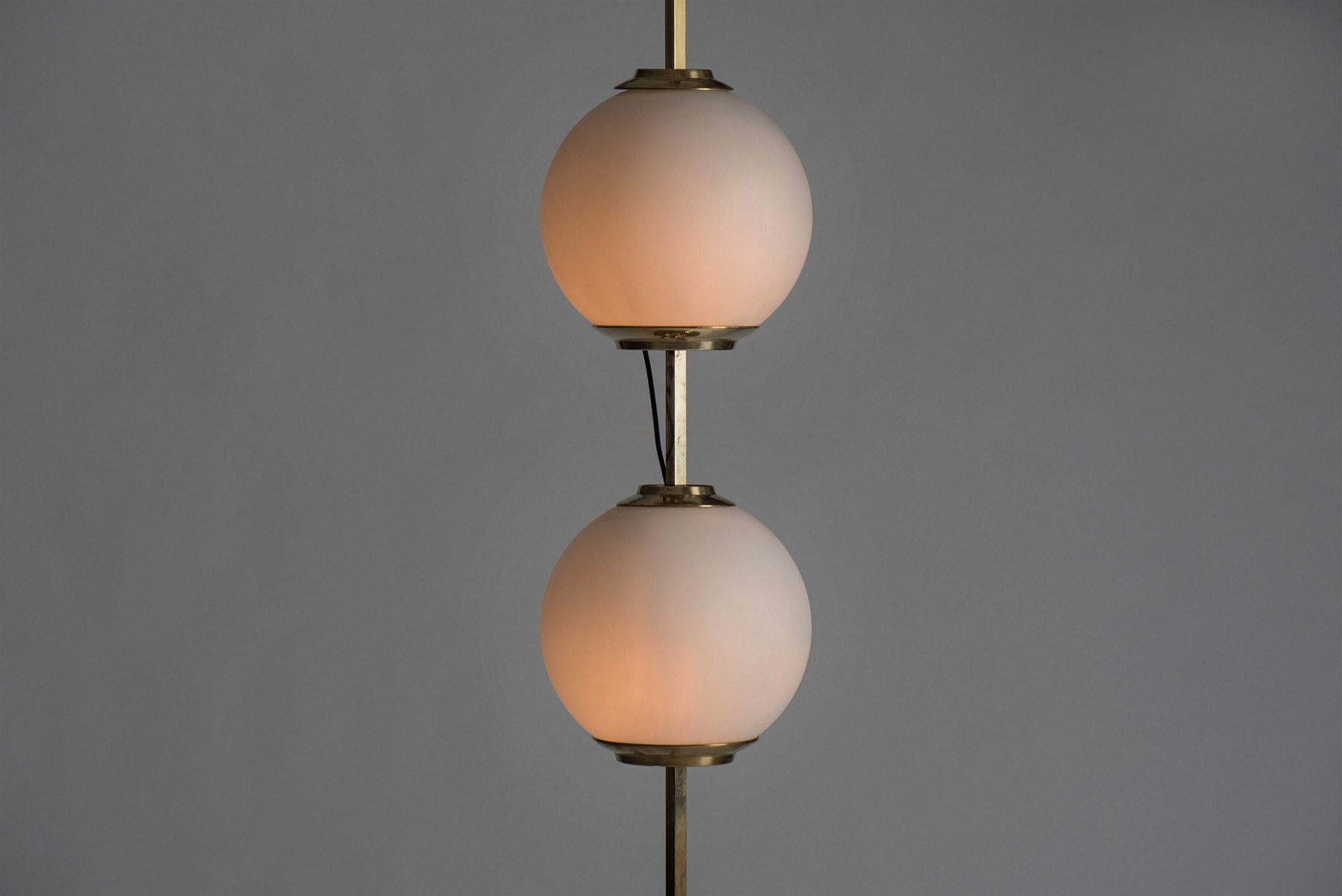 Luigi Caccia Dominioni |   Doppio pallone - floor lamp, model LTE 10