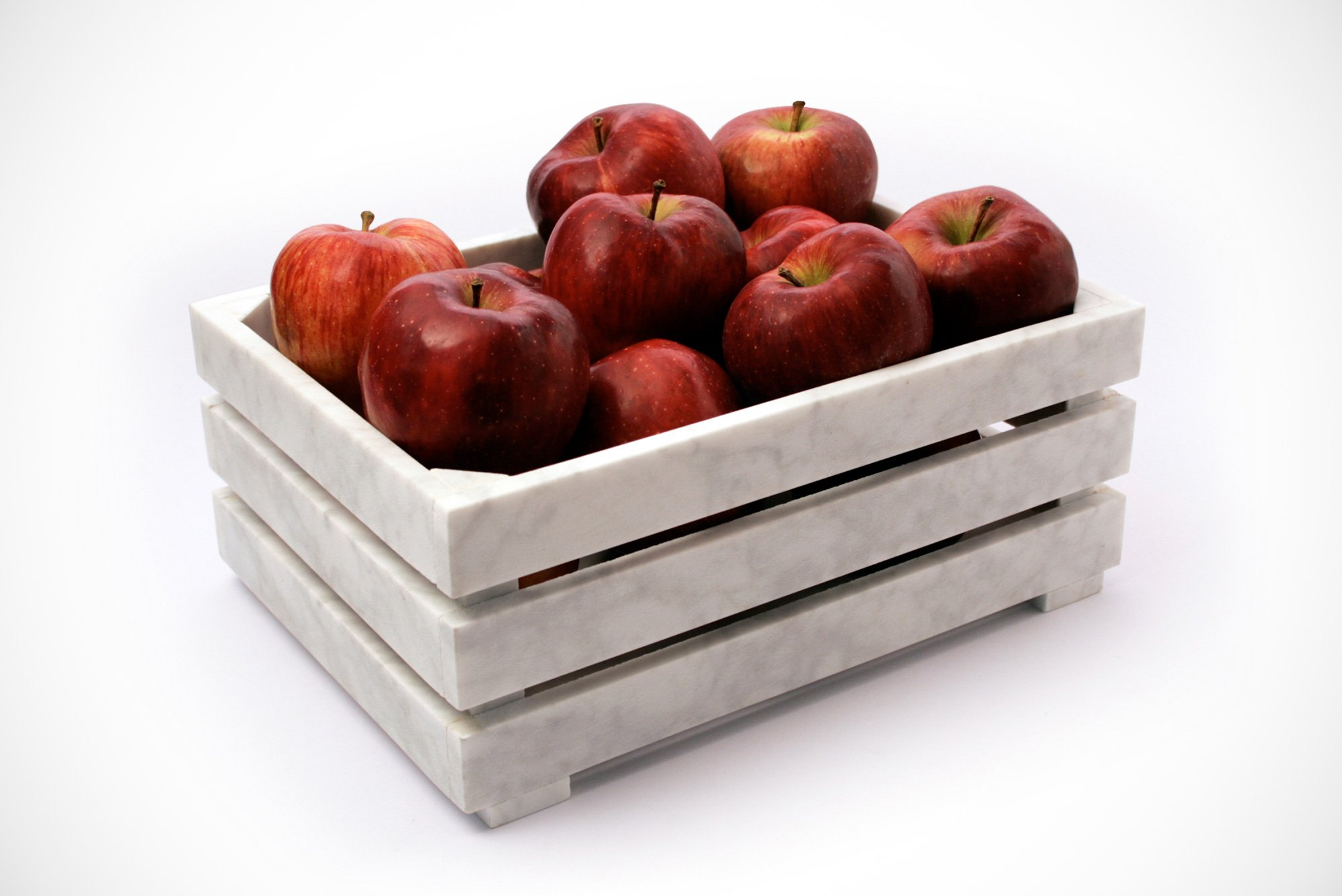 Philippe Nigro |   Market - marble fruit basket