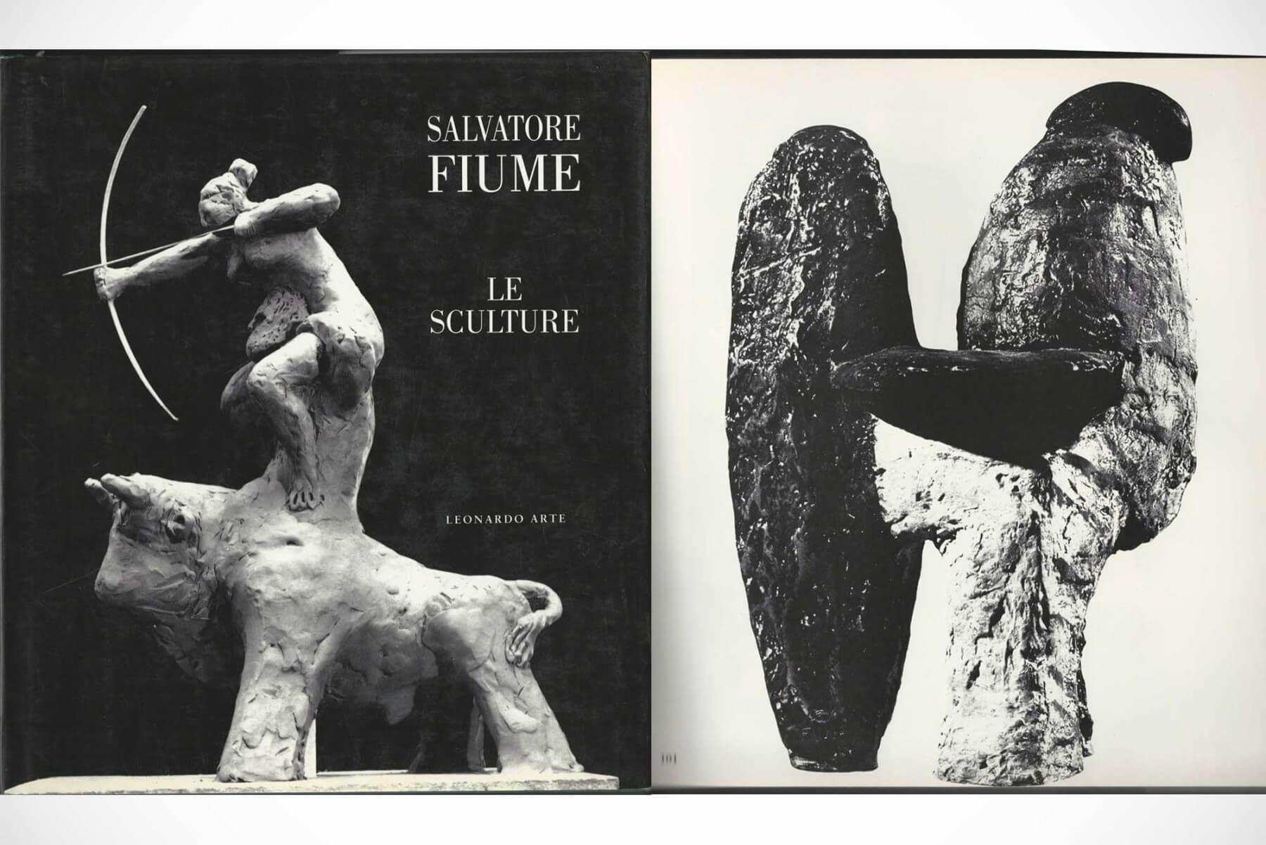 Salvatore Fiume |   Gallo - bronze sculpture