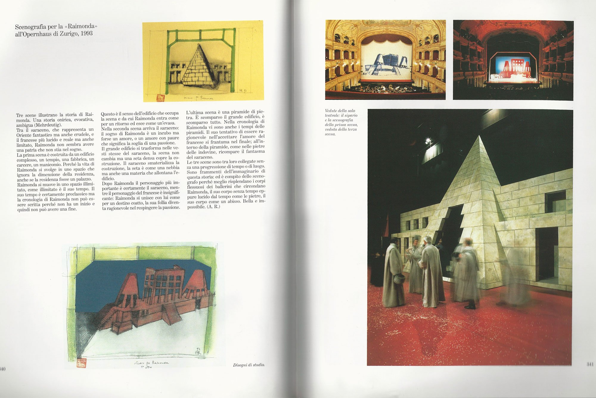 Aldo Rossi |                              Drawing - Studio px Raimonda