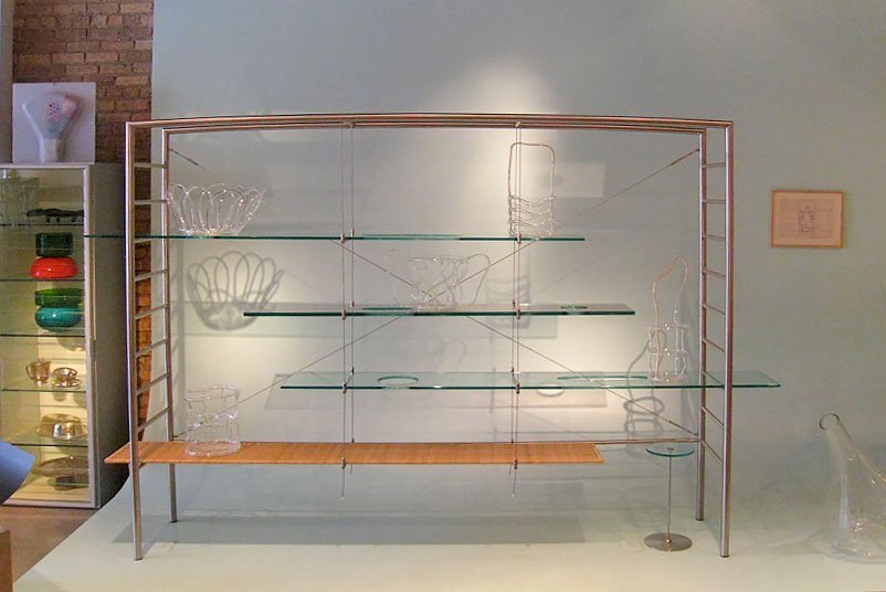 Andrea Branzi |   Pierced Bookcase