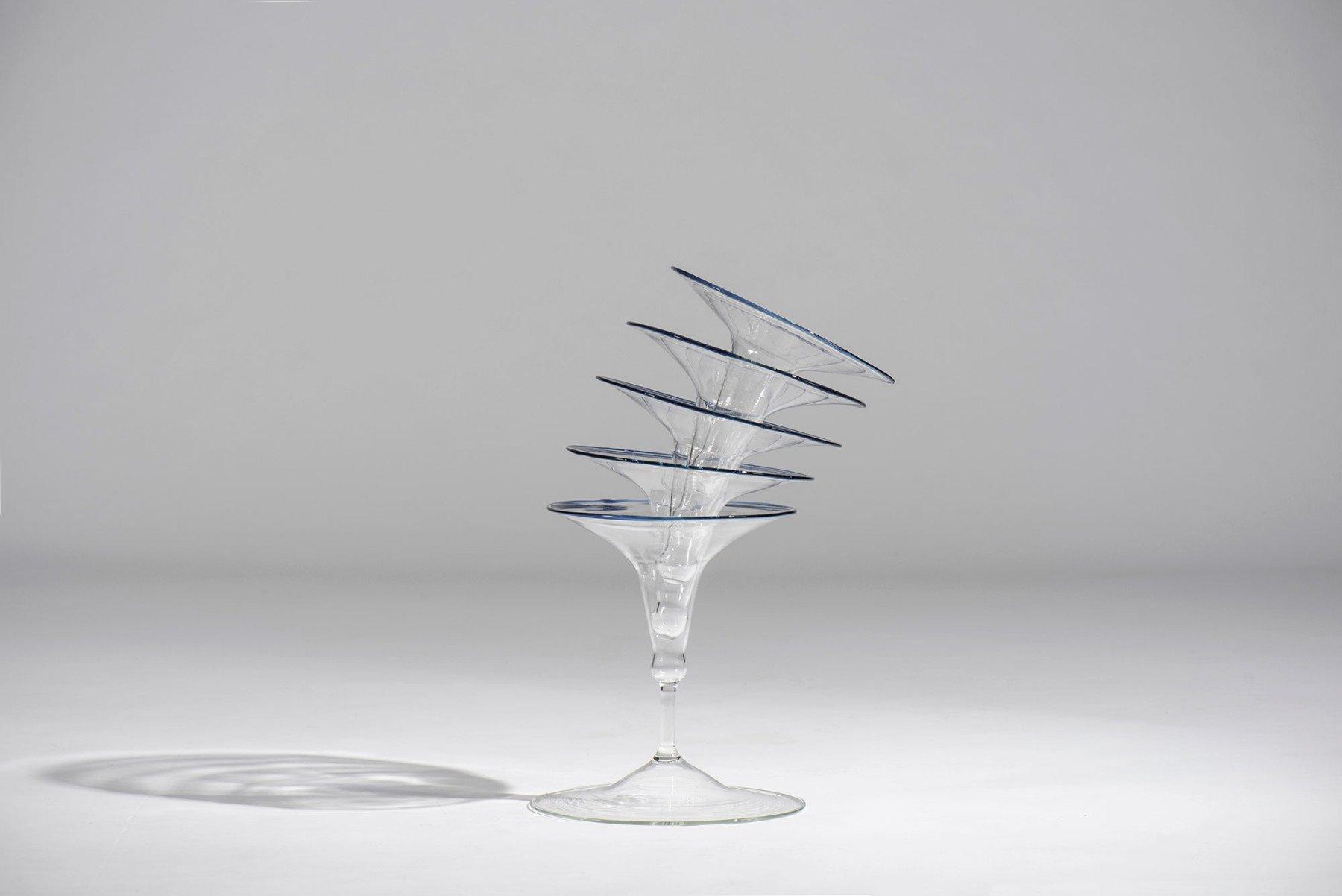 Andrea Branzi |                              Ipomea - glass vase