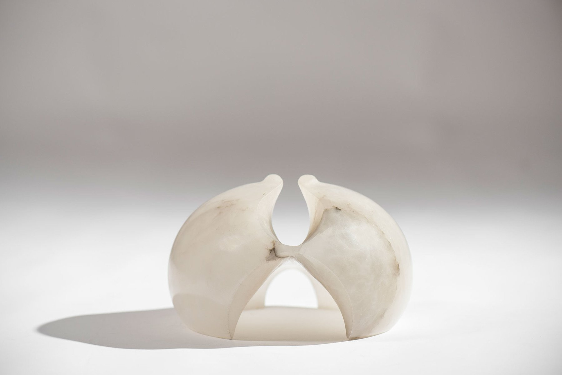 Angelo Mangiarotti |   Alabaster sculpture