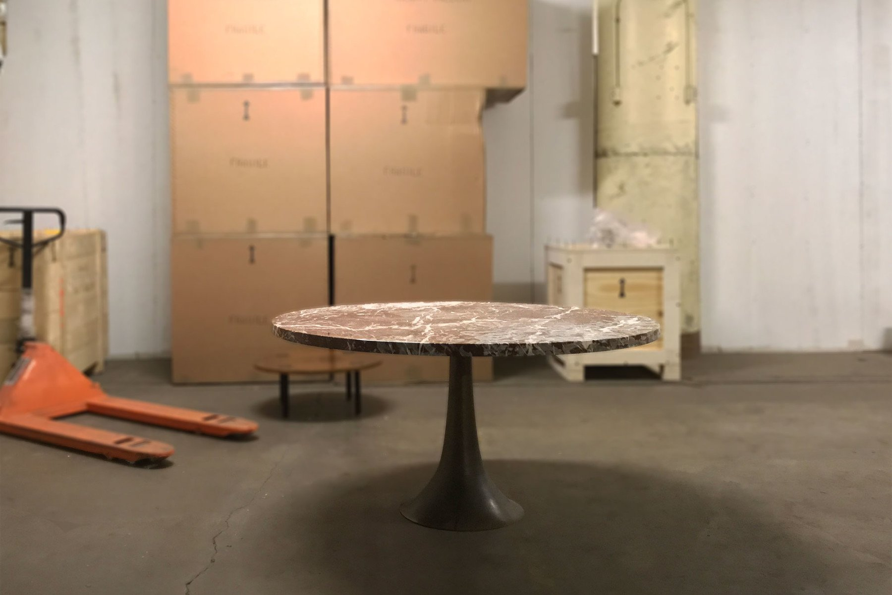 Angelo Mangiarotti |                              Dining table 302