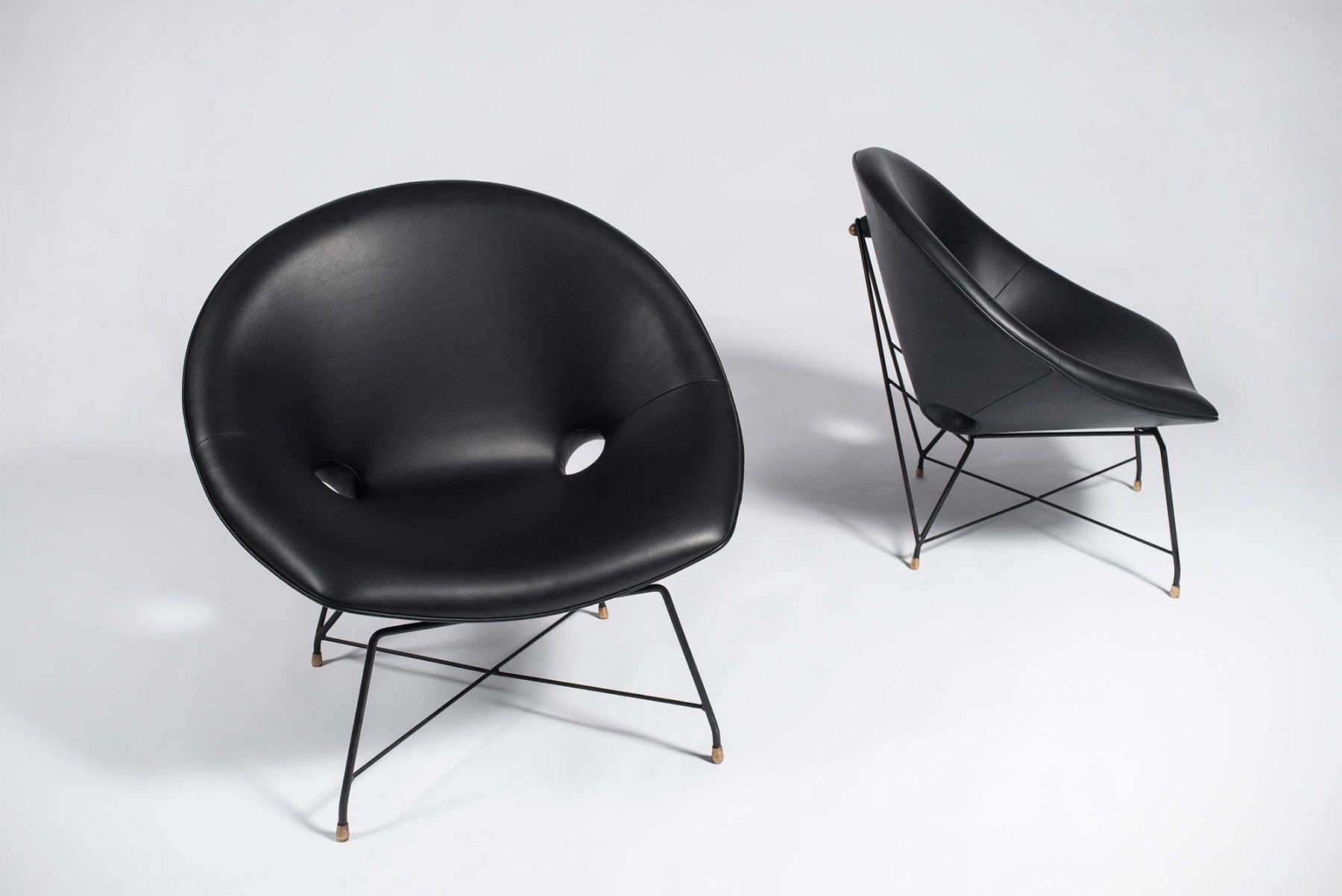 Augusto Bozzi |   Lounge chair - pair