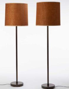 BBPR Pair of floor lamps