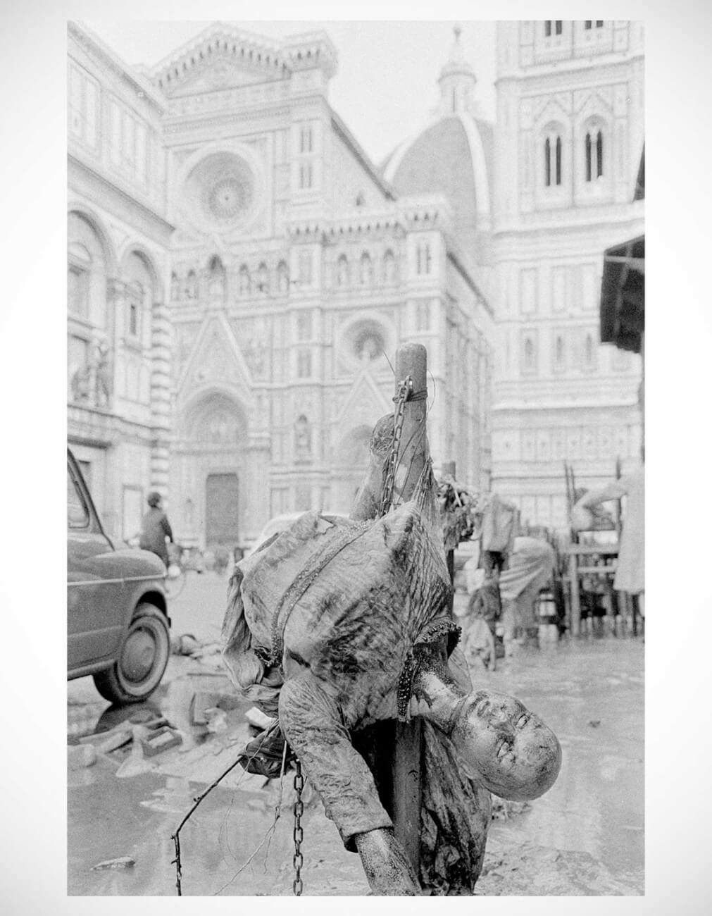 Balthazar Korab |  Balthazar Korab - Mannequin - vintage print from the Florence Flood collection