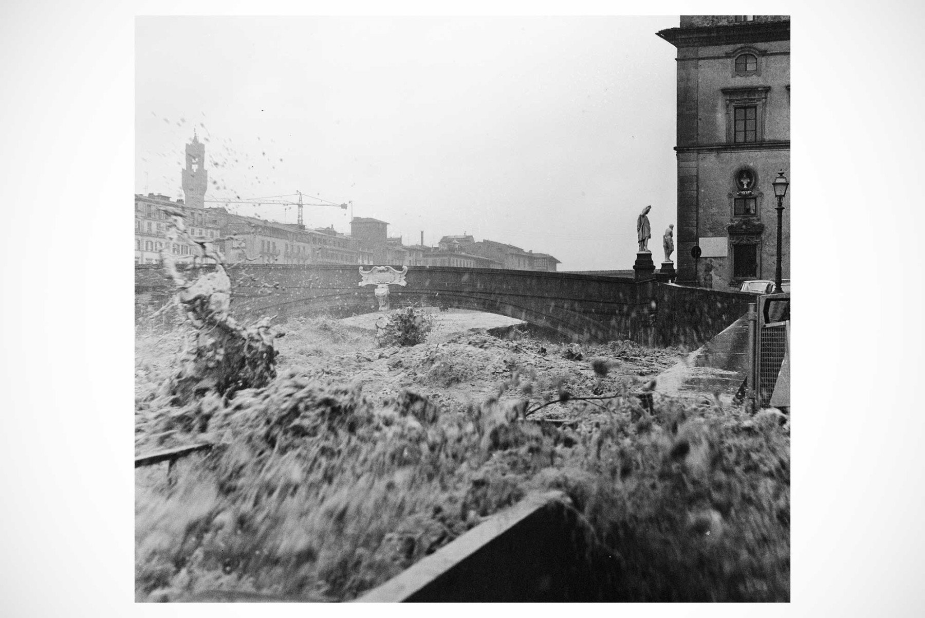 "Balthazar Korab - ""Spalleta"" - vintage print from the Florence Flood collection"