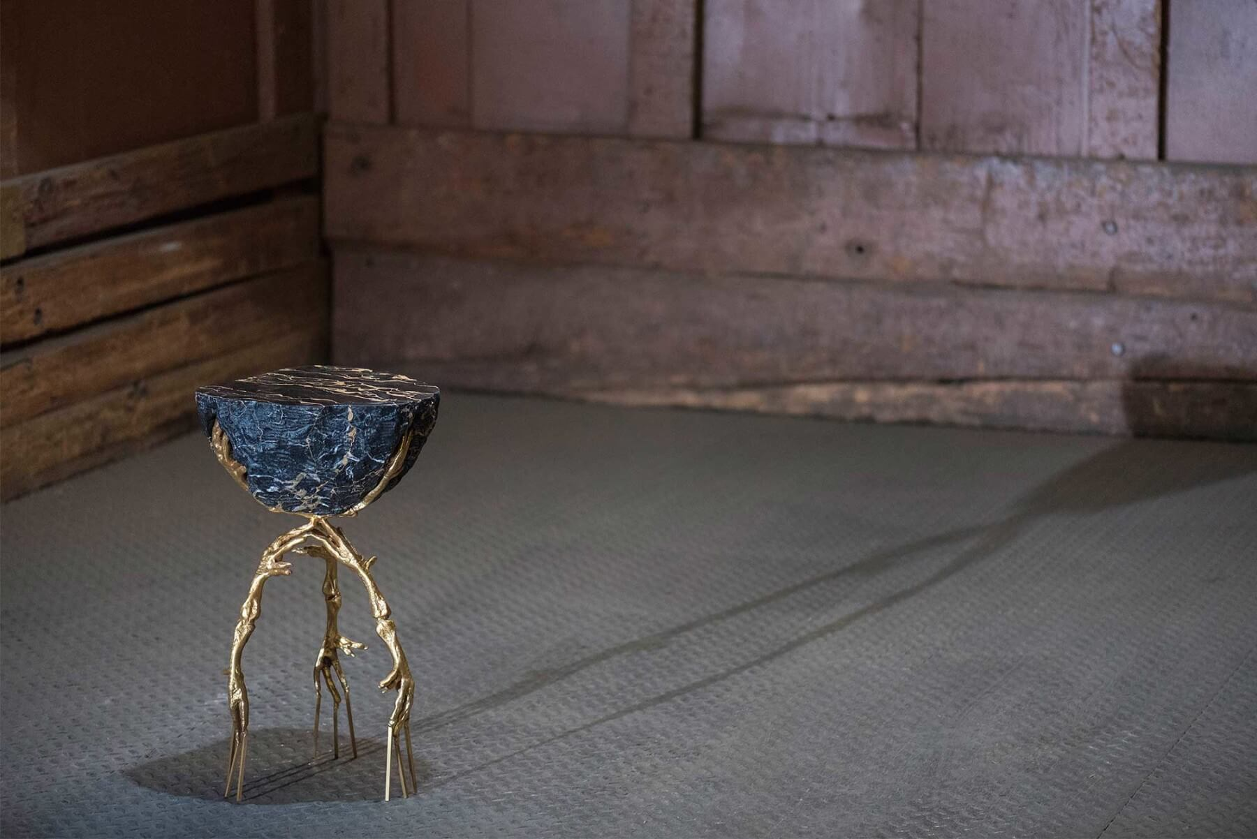 Campana Brothers |   Edward Scissorhands side table