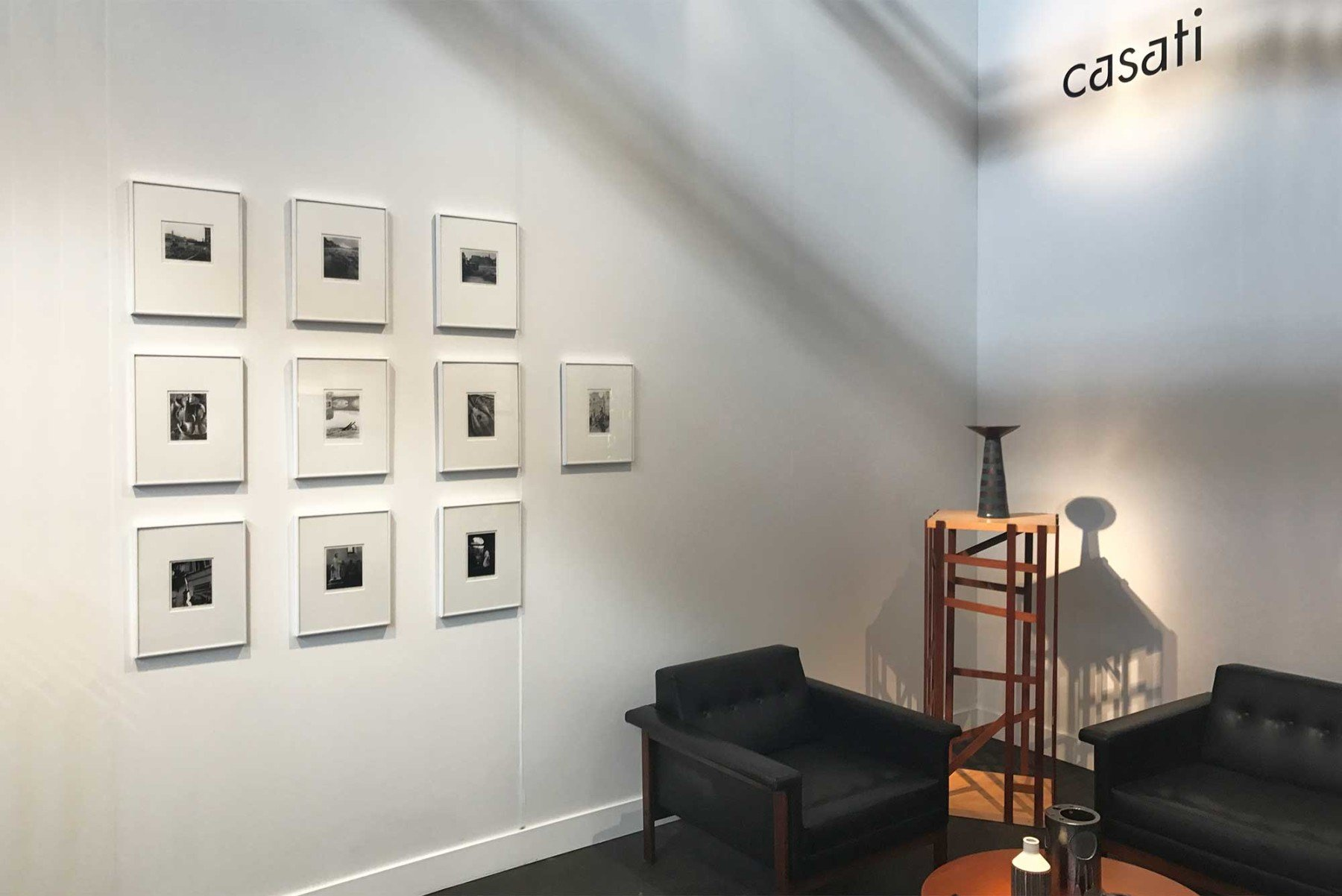 Set of ten vintage prints from the Florence Flood collection, made by Balthazar Korab. Showcased in Casati Gallery's booth at FOG Design + Art fair in San Francisco.