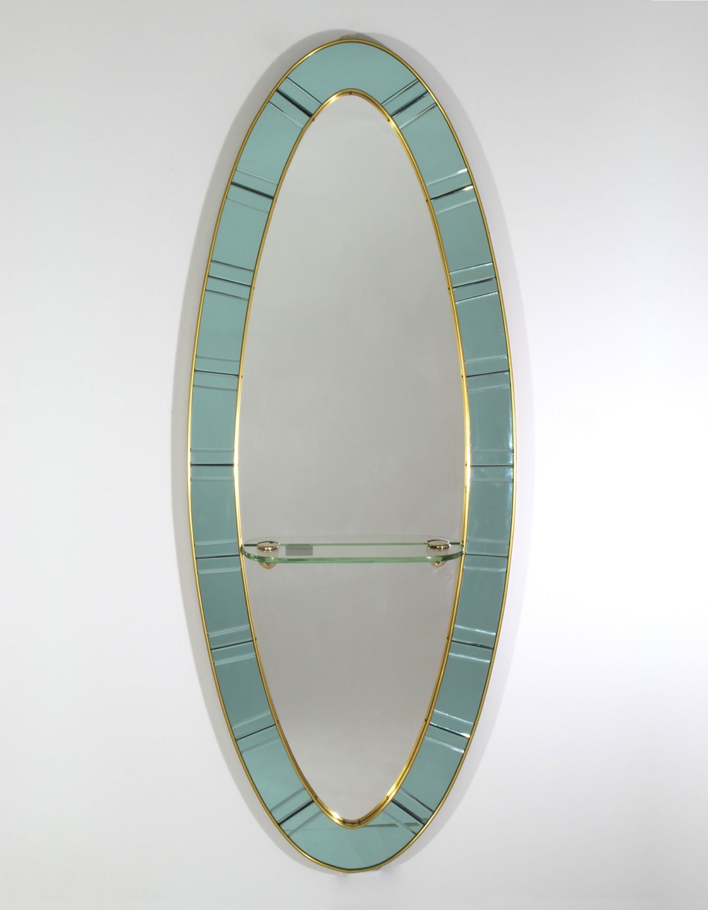 Cristal Art |  Oval mirror
