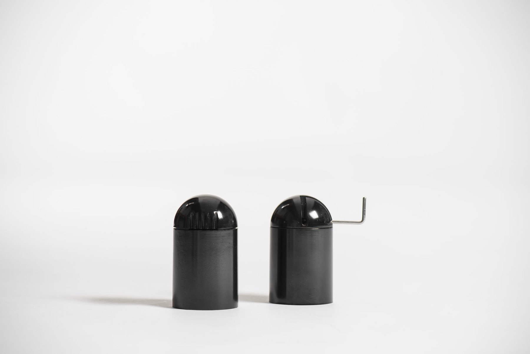 Enzo Mari |   Salt  shaker and pepper grinder