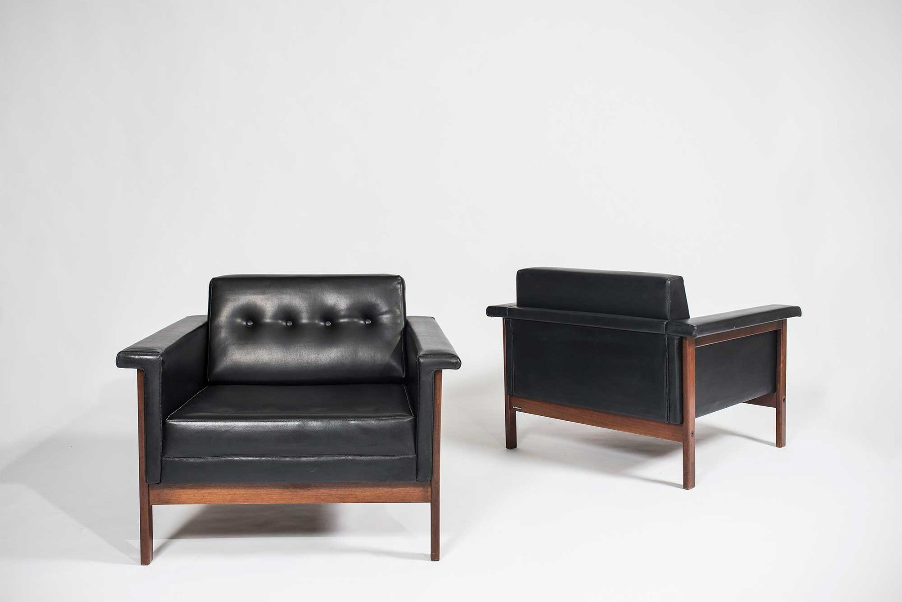 Ettore Sottsass |  Canada - pair of armchairs