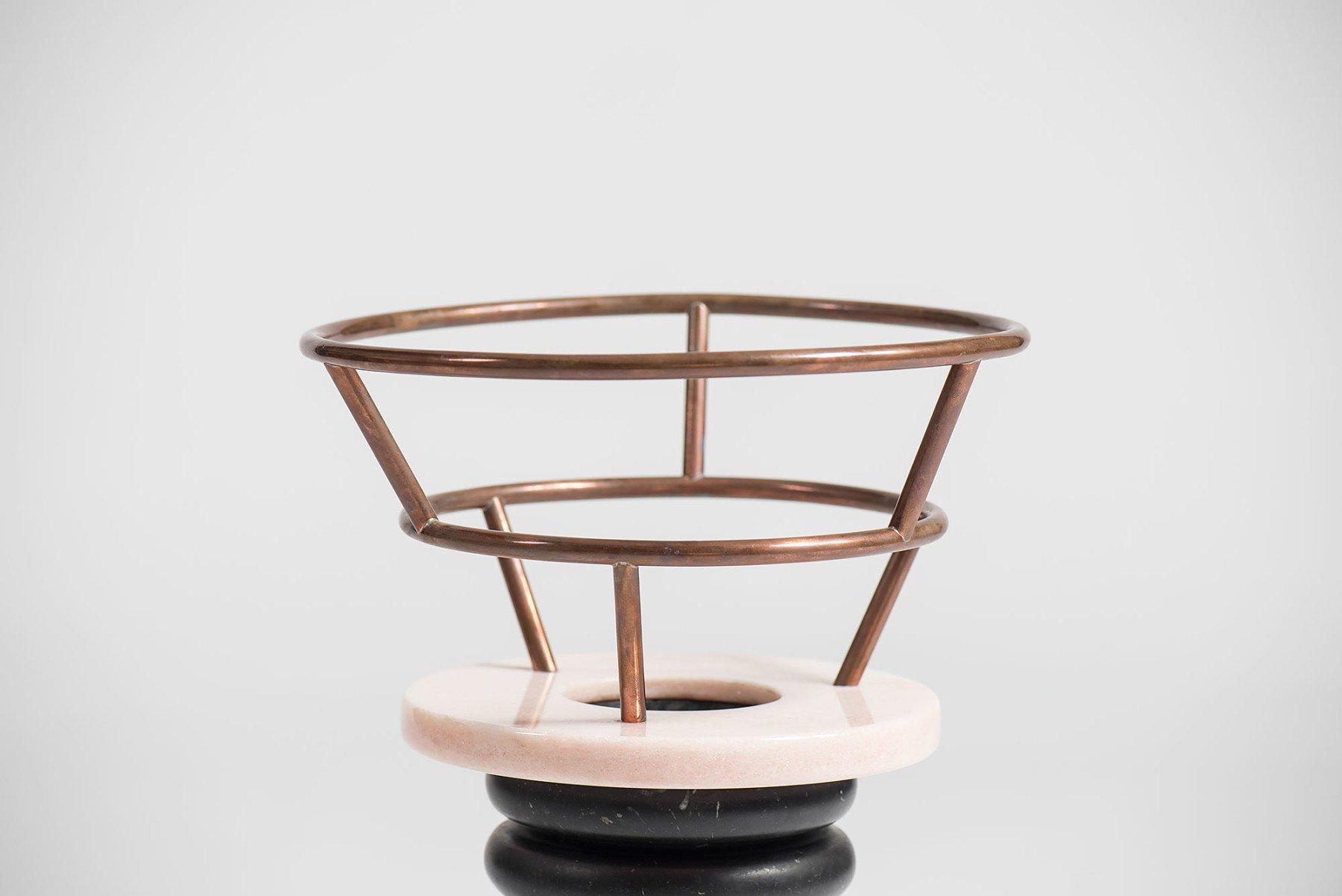 Ettore Sottsass |   Ringhiera Rossa vase