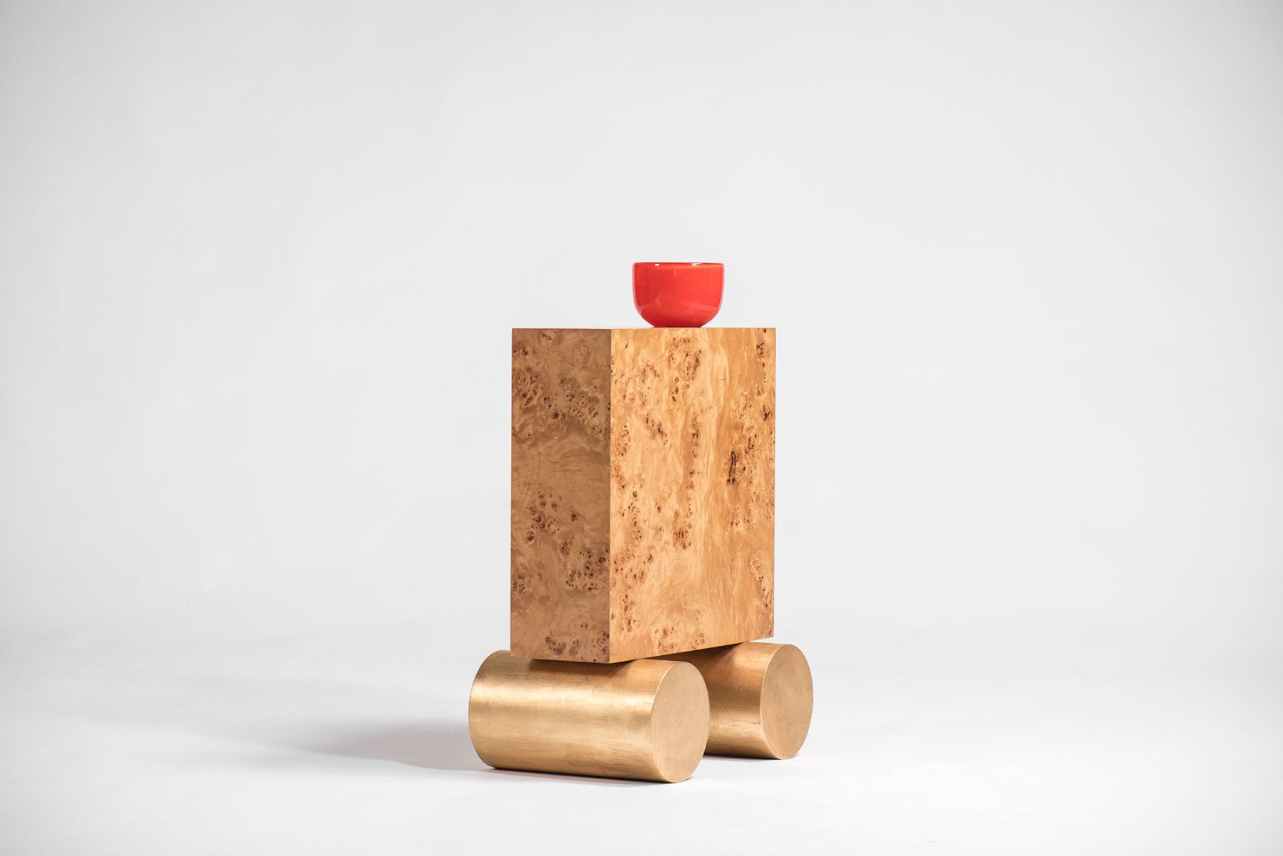 Ettore Sottsass |   S vase from Twenty-seven Woods for a Chinese Artificial Flower