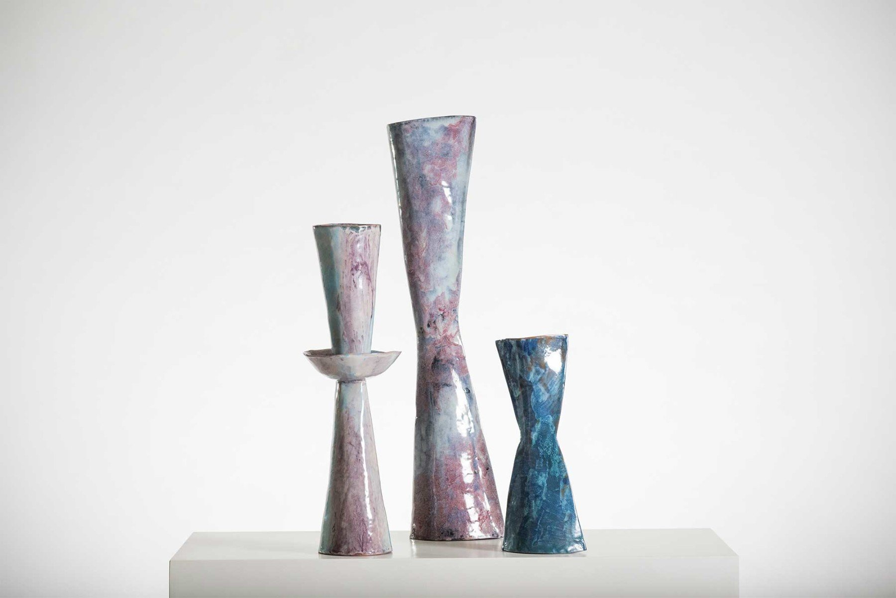 Fausto Melotti |                              Colletto - ceramic vase