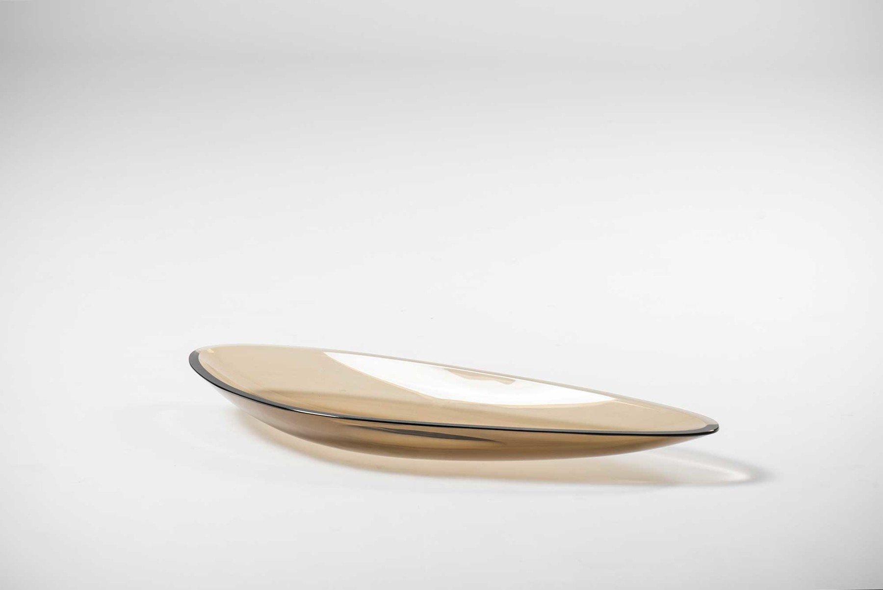 Fontana Arte |   Glass dish model 1528