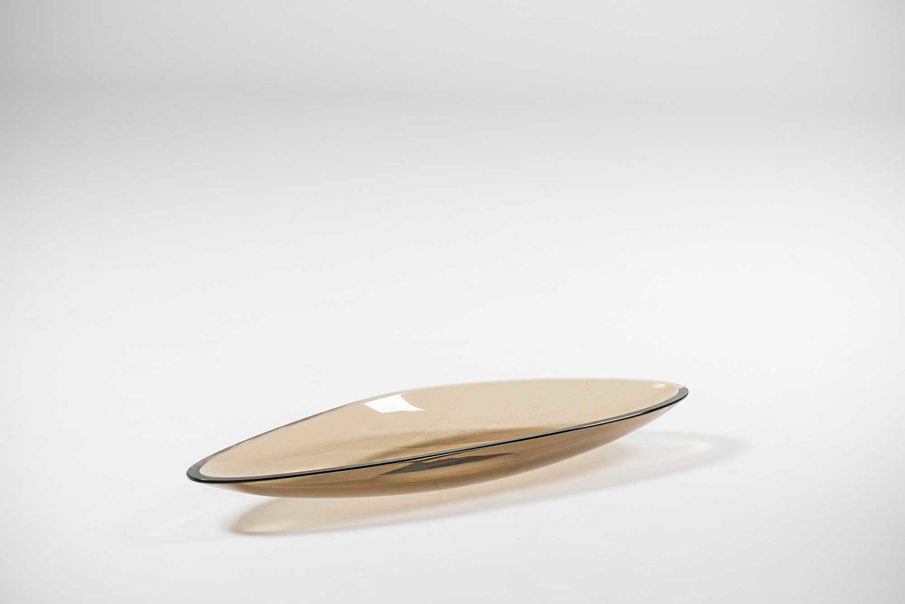 Fontana Arte |                              Glass dish model 1528