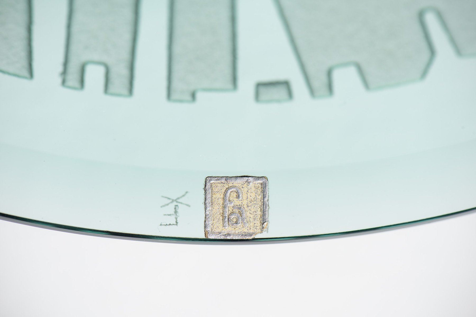 Fontana Arte |                              Glass plate, mod. 2115