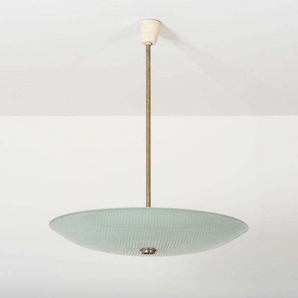 Pietro Chiesa |                                  Disk chandelier