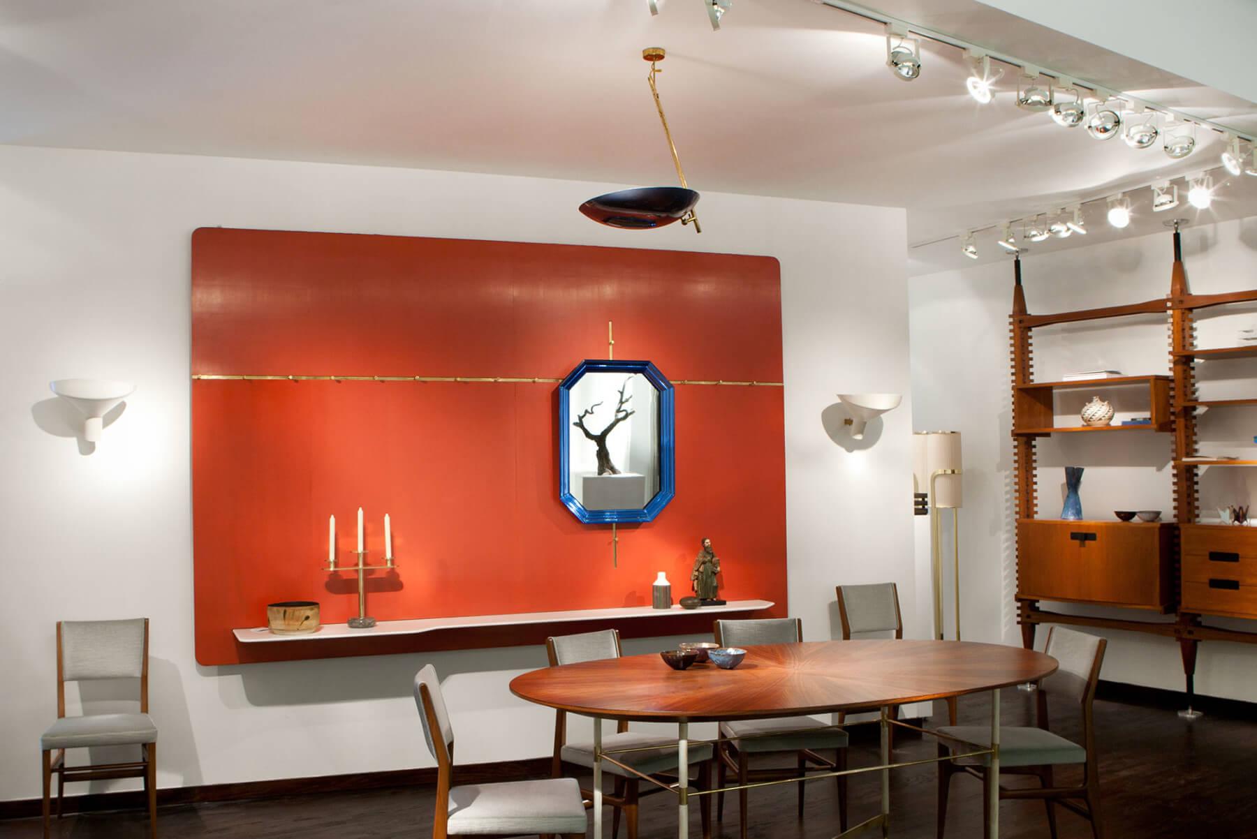 Vittoriano Viganò                                Ceiling light, model 2059