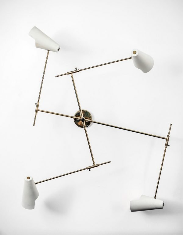 Gino Sarfatti |  Rare wall light, model 169/4
