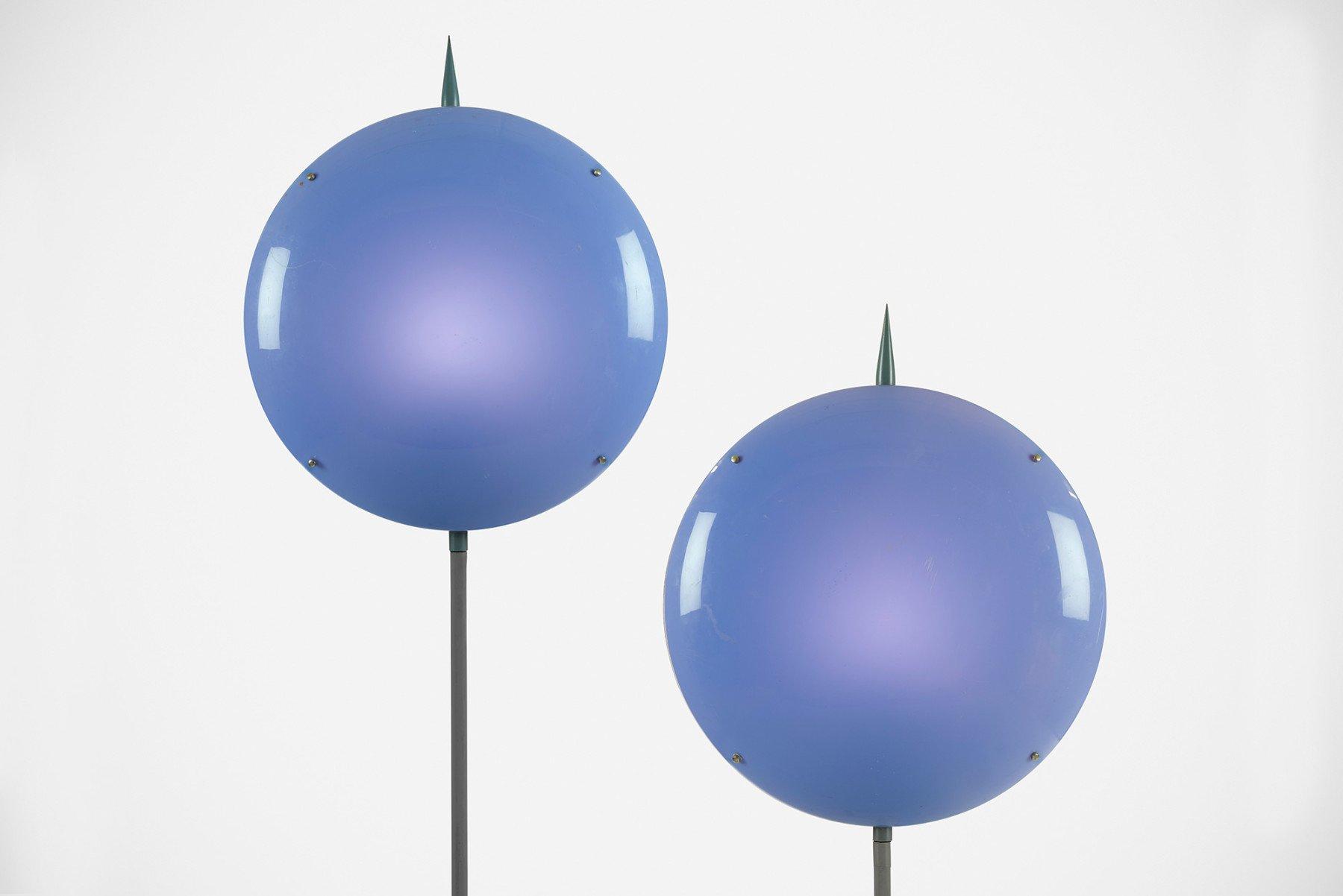 Gio Ponti |  Luna - pair of lamps, from Villa Arreaza, Caracas