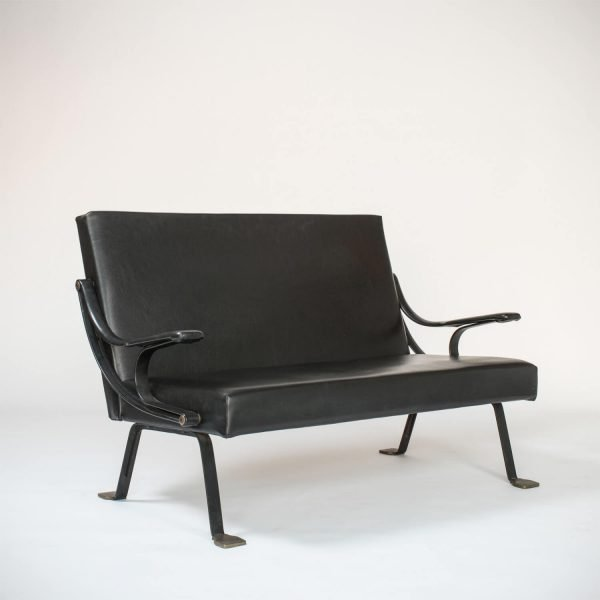 Ignazio Gardella |                                  Digamma - loveseat