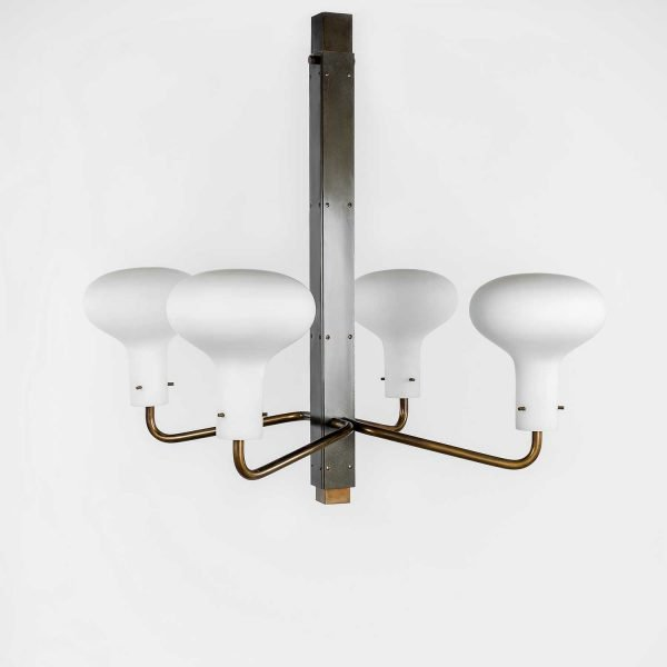 Ignazio Gardella |                                  Four-arm chandelier