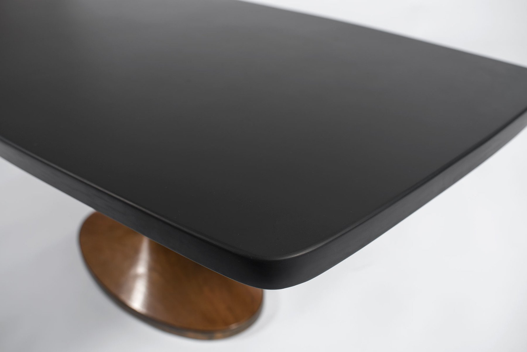 Luigi Caccia Dominioni  |  Coffee table mod. T7 with black slate top