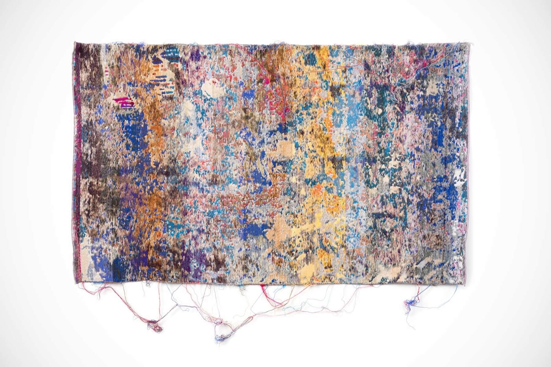 Laura Letinsky and John Paul Morabito |                              Blukarliwhidandagz - wall tapestry