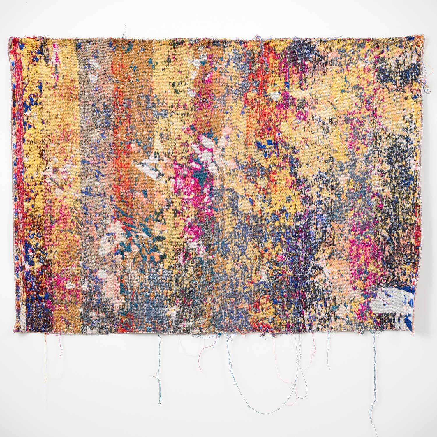 Laura Letinsky & John Paul Morabito |                                  Postnatureflowermarket(trainingUnslktaid) - wall tapestry