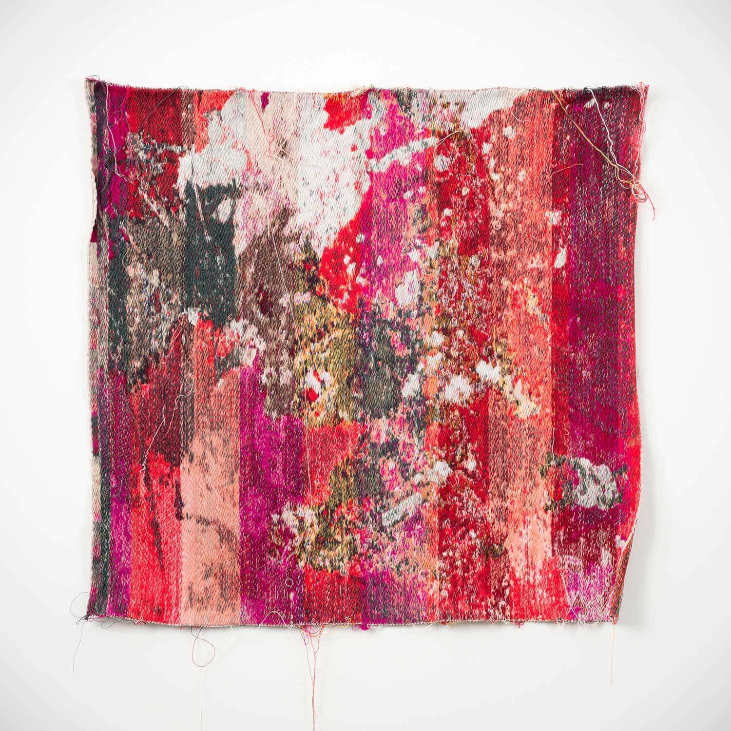 Laura Letinsky and John Paul Morabito |  Red&whiteverechadpanhudaiondaahoneymoon - wall tapestry