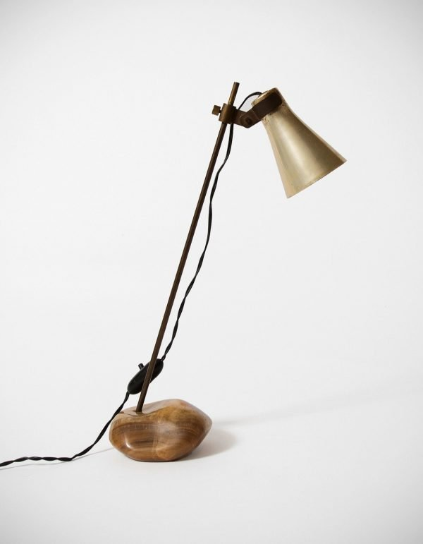 Luigi Caccia Dominioni |  Sasso - rare table lamp, Lta 1