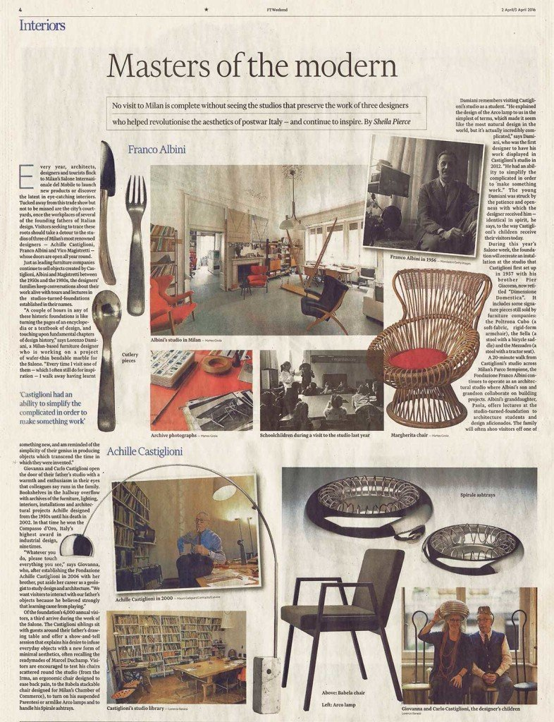 Master of Modern design article