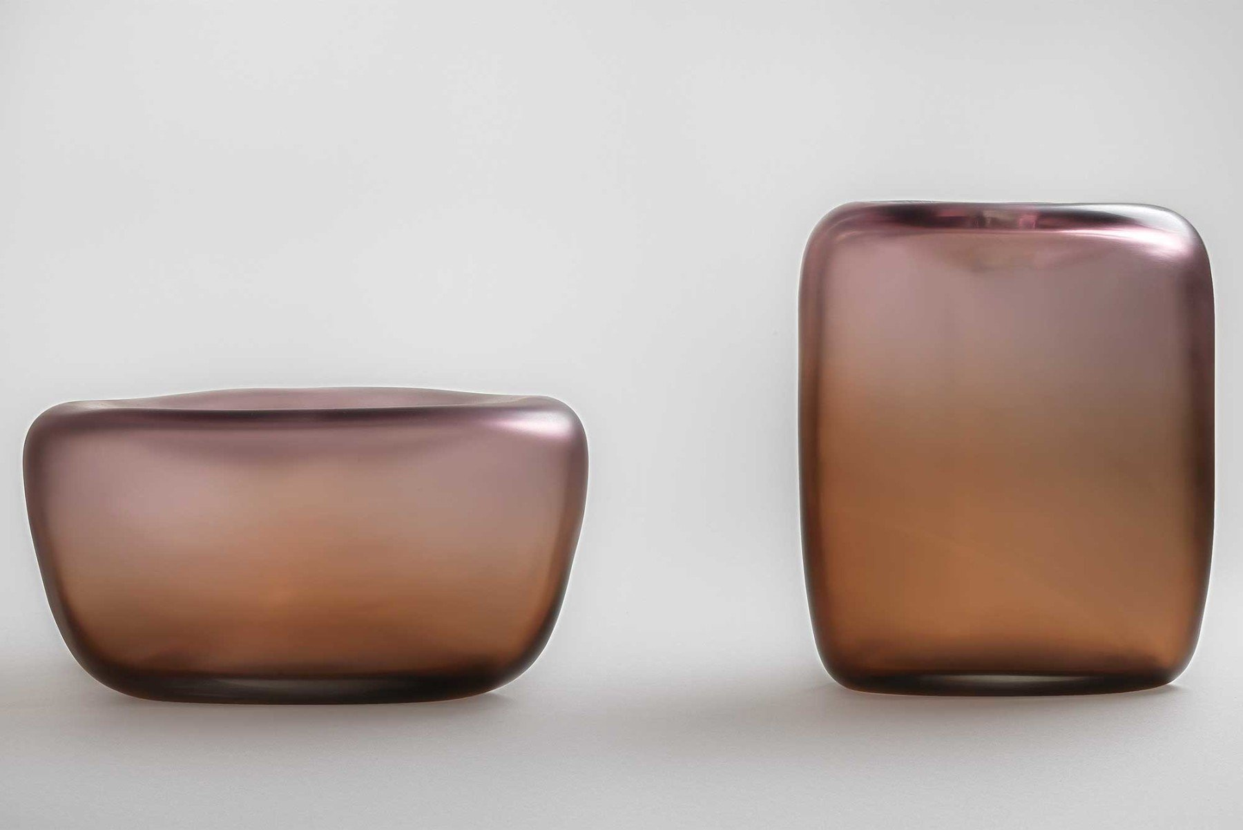 Michela Cattai |   Canneto Laguna - Bronzo glass vases