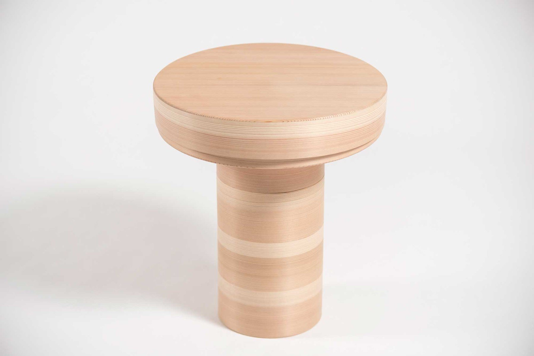 Philippe Nigro |                              Side tables with lids