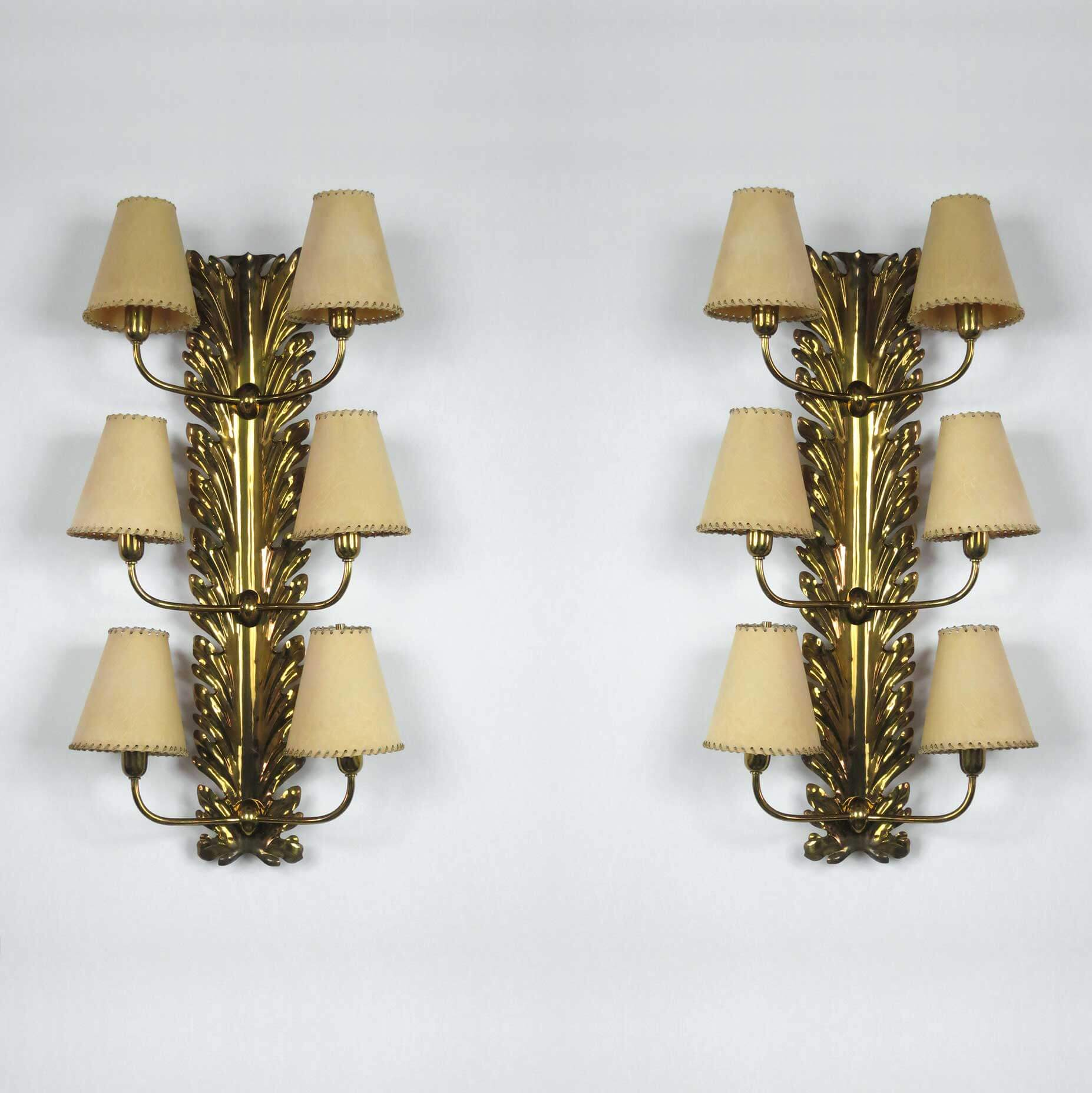 Pietro Chiesa |  Pair of sconces