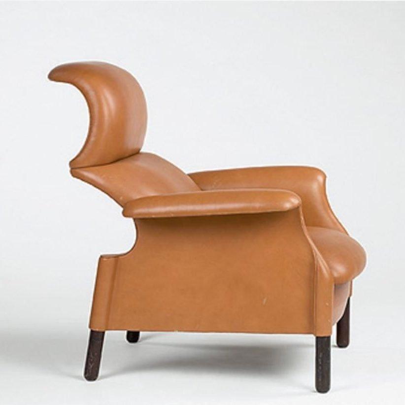 Poltrona Frau Sanluca Chair designed by Achille and Giacomo Castiglioni