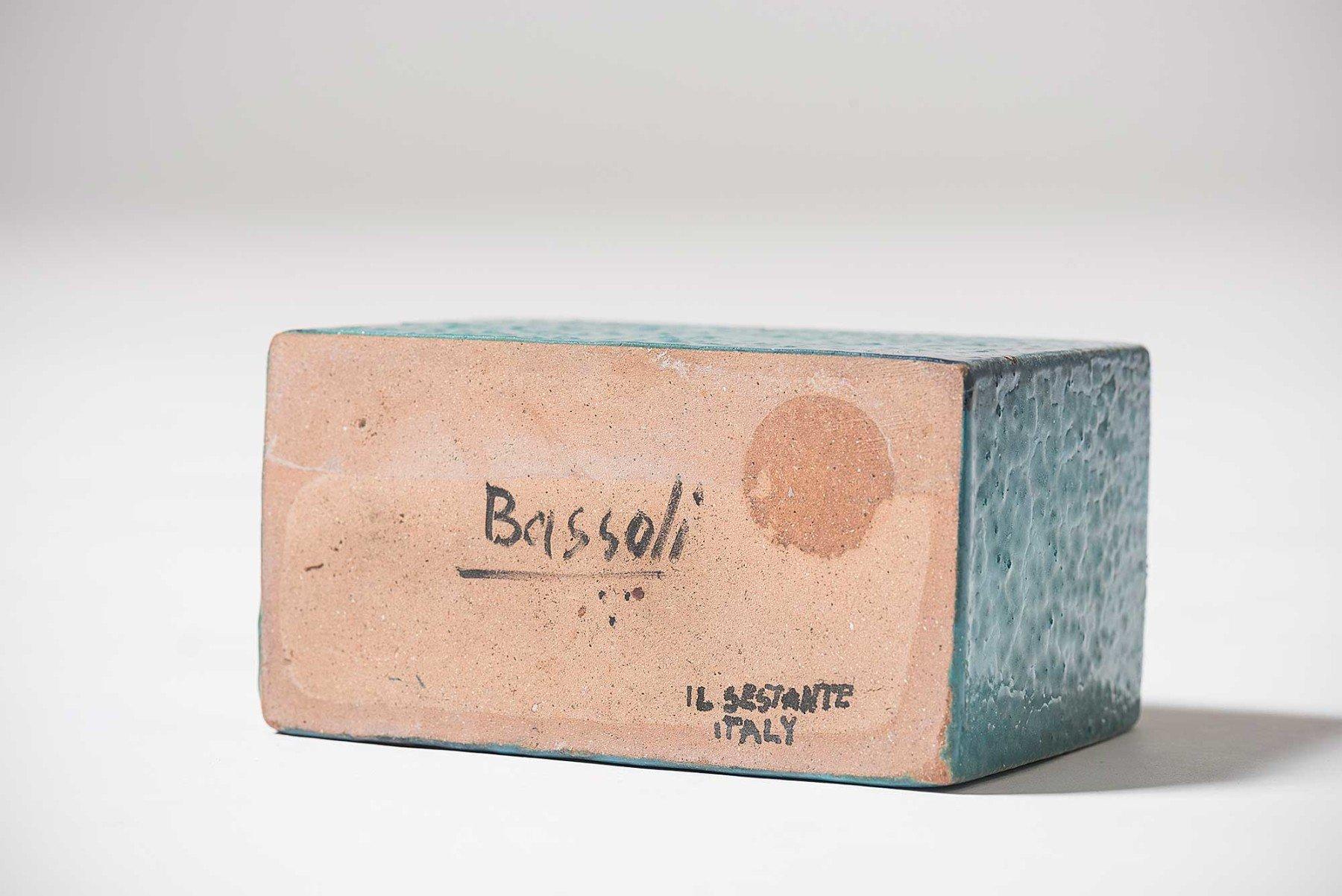 Renato Bassoli |   Sassi - ceramics